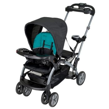 Baby Trend Sit N Stand Ultra Tandem Stroller, Lagoon Review 1