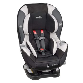 Evenflo Triumph LX Convertible Car Seat Review